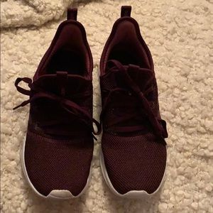 Adidas Maroon shoes
